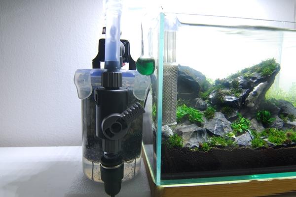 Как установить фильтр в нано аквариум