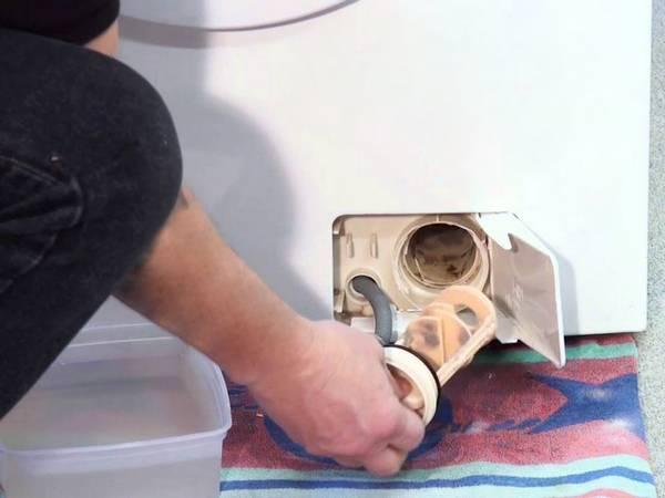 Как извлечь и почистить фильтр в стиралке