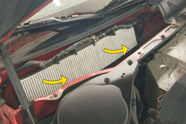 Форд Мондео 3 замена салонного фильтра
