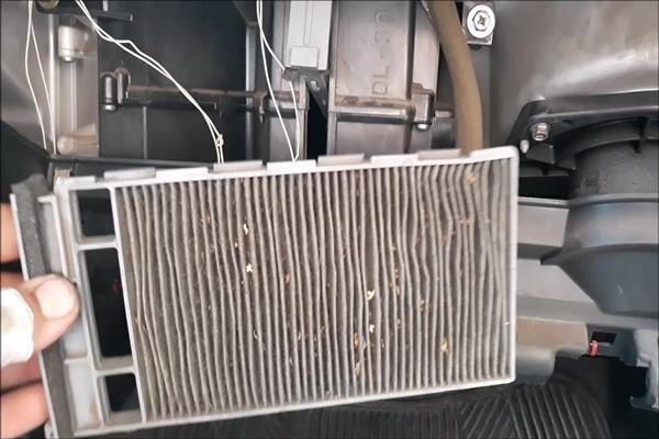 Ниссан альмера g15 салонный фильтр