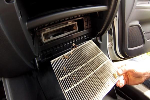 Аутлендер 3 замена салонного фильтра