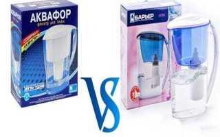 Фильтры Барьер или Аквафор: что лучше выбрать для качественной очистки воды?