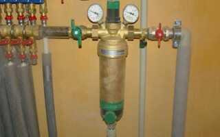 Как в домашних условиях почистить фильтр грубой очистки воды перед счетчиком воды