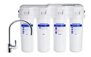 Как быстро установить фильтр для воды Аквафор Кристалл