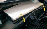 Как выбрать и заменить салонный фильтр на Форд Фокус 1