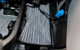 Как своими руками заменить салонный фильтр на Форд Фьюжн