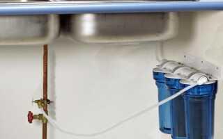 ТОП-10 моделей фильтров для воды под мойку, инструкция по установке